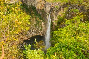Saltos do Rio Preto na Chapada dos Veadeiros