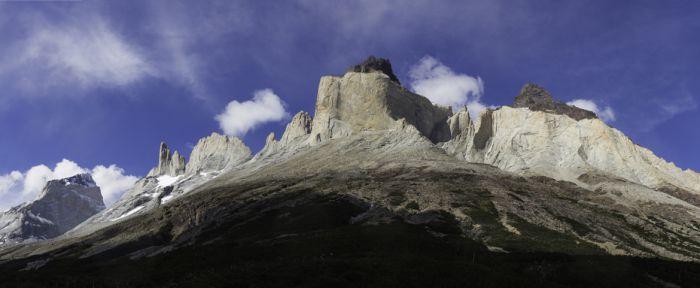 Vista dos Cuernos del Paine