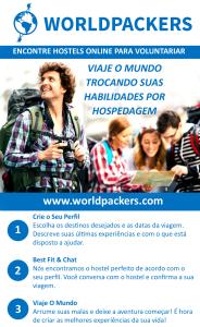 Banner de divulgação da WorldPackers