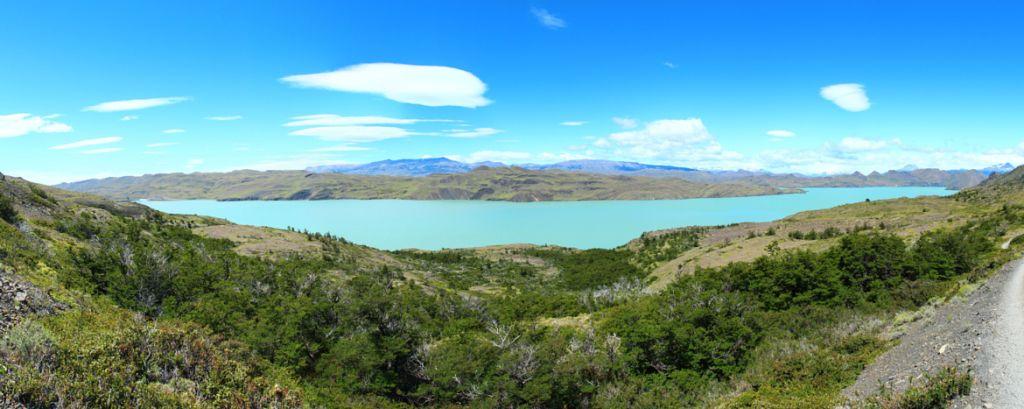 Vista do Lago Nordenskjold (Guia Torres del Paine)