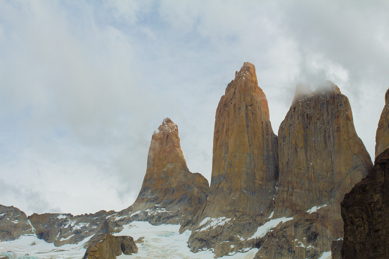 Foto das Torres no Parque Nacional Torres del Paine