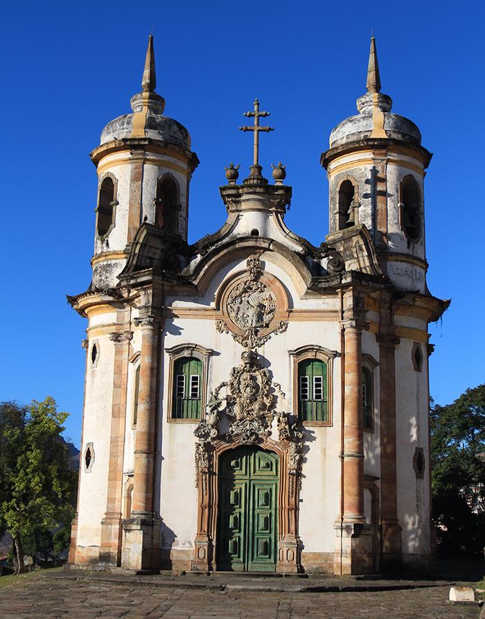 Igreja de São Francisco de Assis (Foto: Marcos Borges)