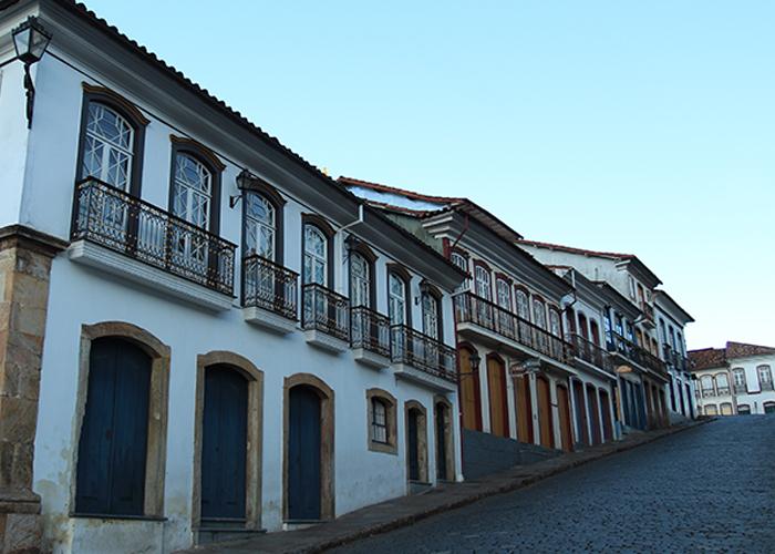 Rua de Ouro Preto (Foto: Cláudia Pelegrini)