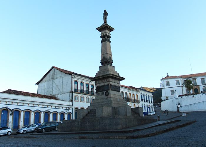 Praça Tiradentes (Foto: Cláudia Pelegrini)