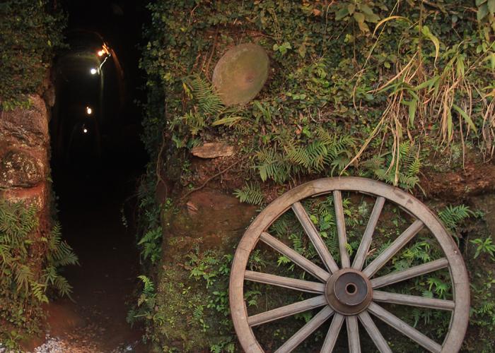 Entrada de uma Mina de Ouro (Foto: Cláudia Pelegrini)