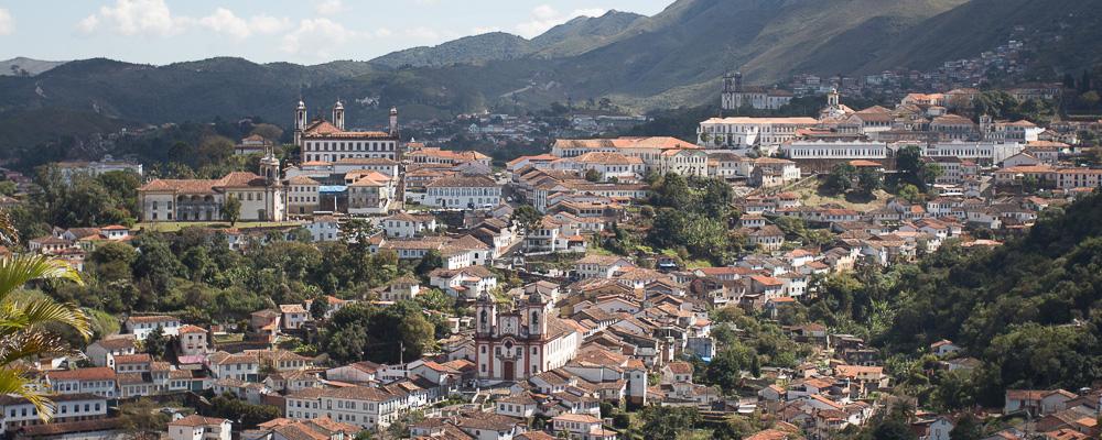 Igrejas de Ouro Preto, MG, Brasil. Vistas do alto (Marcos Borges/A 4 Pés)