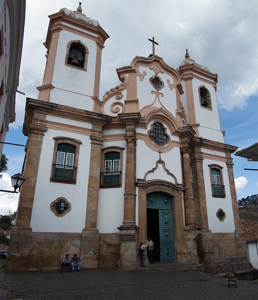 """Matriz (do lado """"português"""") Nossa Senhora do Pilar - Ouro Preto"""