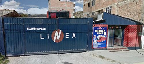 Rodoviária Linea - Huaraz