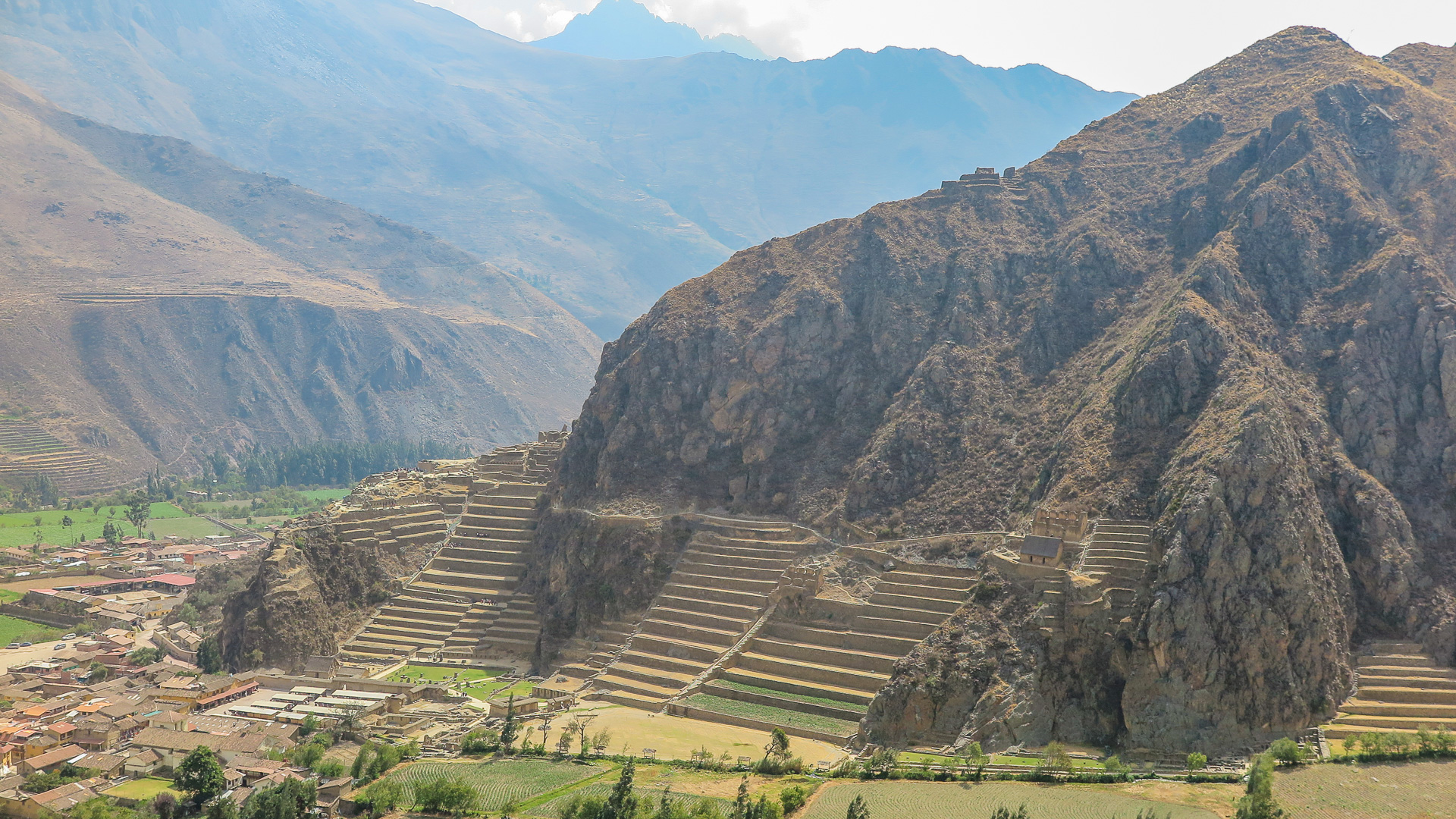Sítio Arqueológico de Ollantaytambo (Viajar, Ver e Viver)