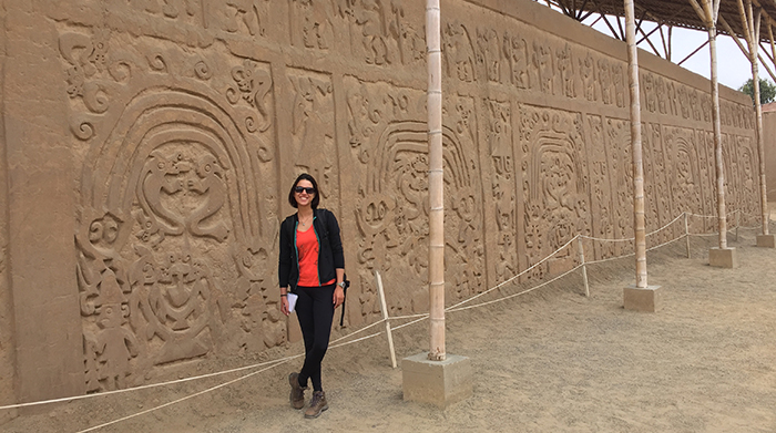 Huaca Arco Íris, cultura Chimu