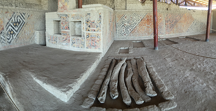 Local onde foi encontrada a Dama de Cao