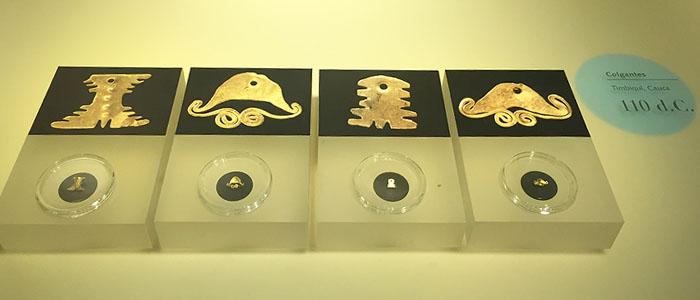 Peças em Oro, talhadas a 110 d.c.
