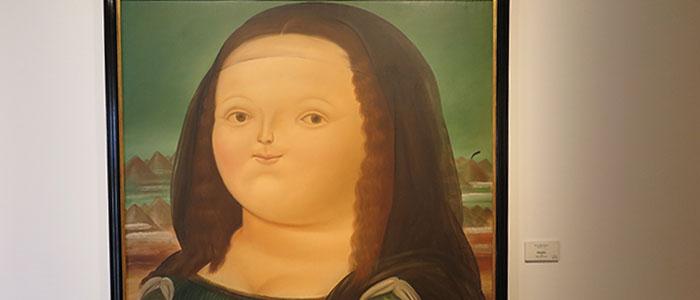 Não deixe de ver de perto a Monalisa de Botero