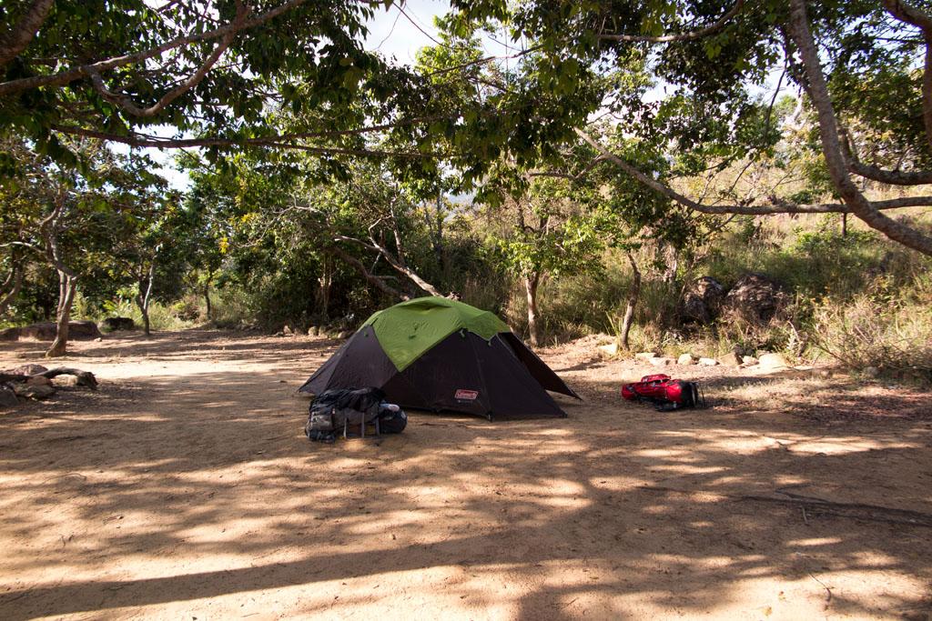 Acampamento kukenán com nossa barraca - Monte Roraima