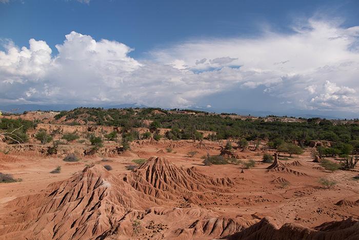O deserto de Tatacoa