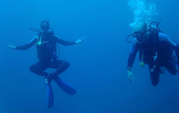 Mergulho em Santa Marta