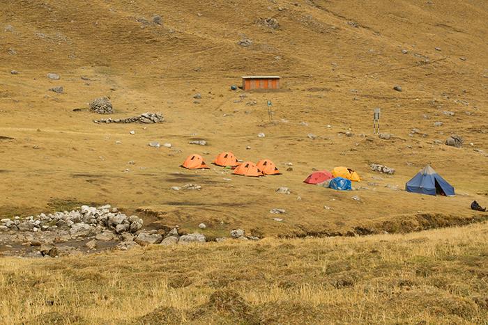 Acampamento Caurtelwain - 4.180m