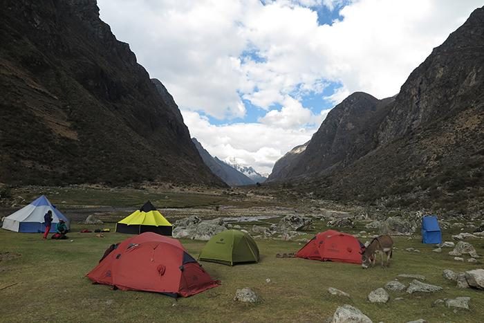 Acampamento Llamacorral (3.760m)