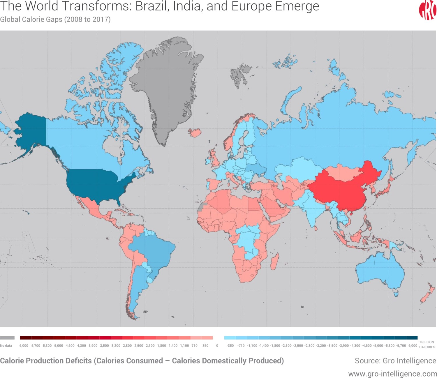 The World Transforms: Brazil, India, and Europe Emerge