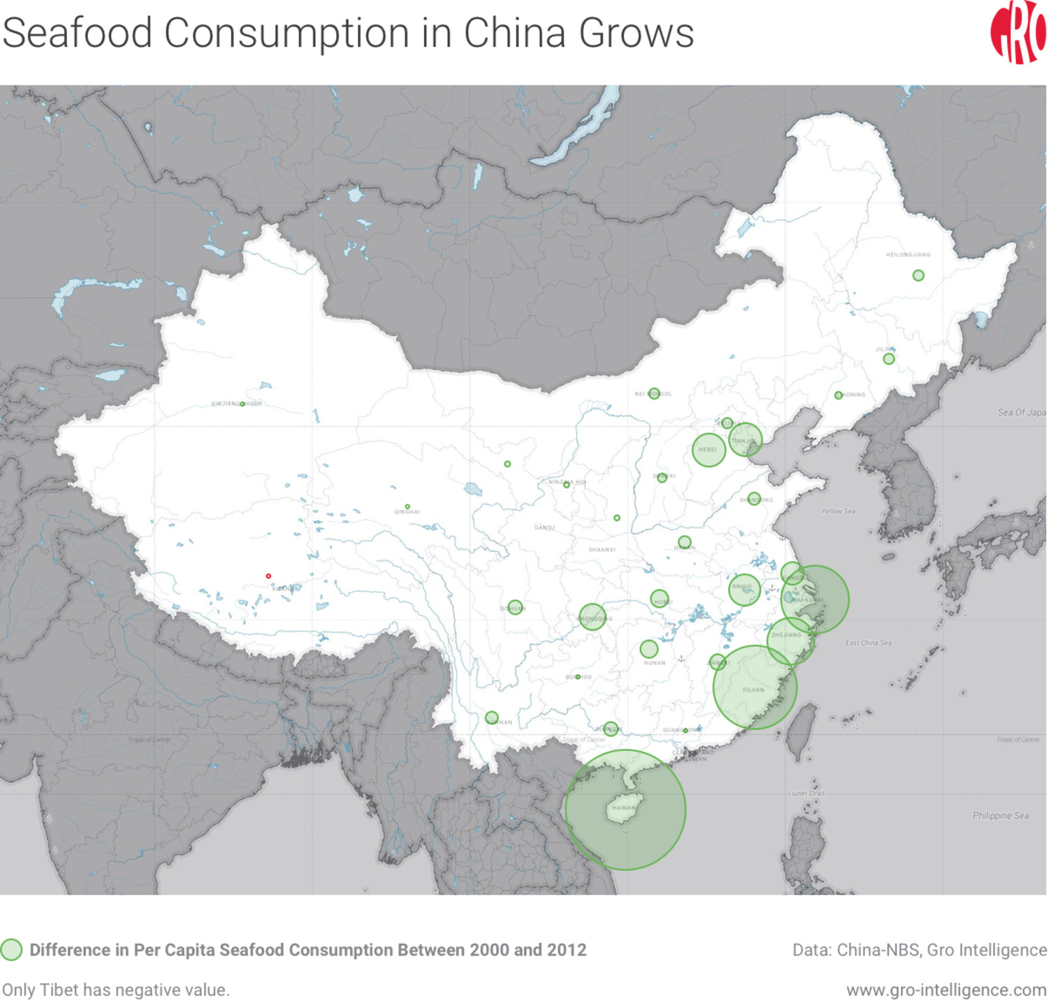 Seafood Consumption in China Grows