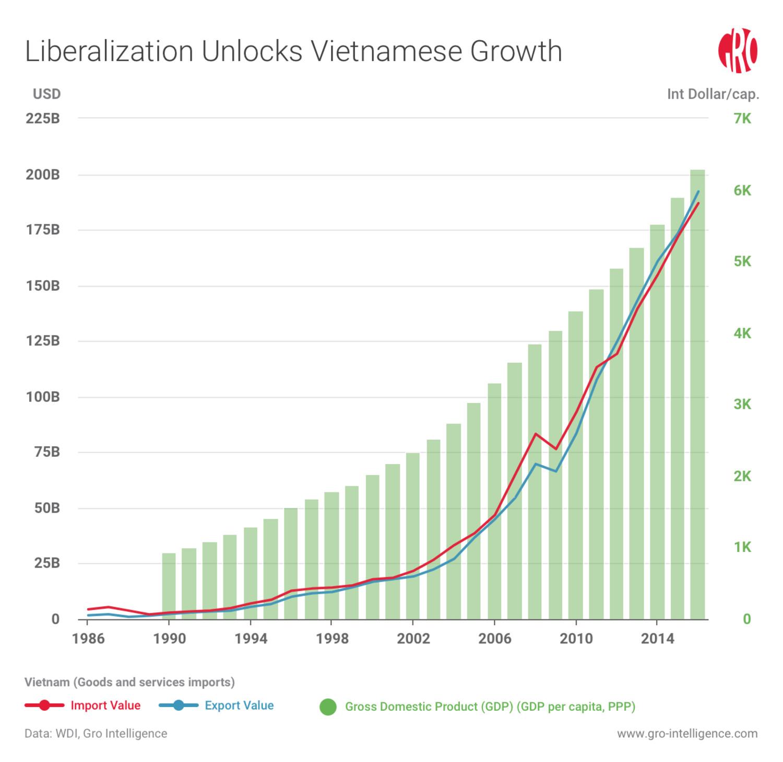 Vietnam Trade Liberalization Growth