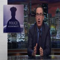 john oliver police accountability