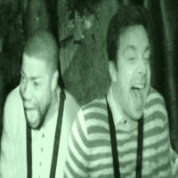 kevin hart and jimmy fallon visit haunted house