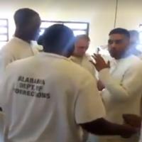 alabama inmates mannequin challenge