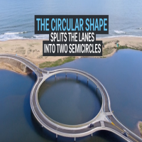 Uruguay circular bridge