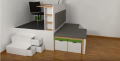 Furniture For Micro-Apartment