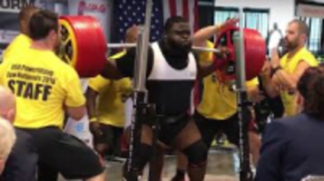 ray williams sets powerlifting record