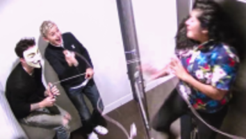 Ellen and Adam Levine's Bathroom Scares