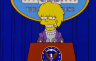 simpsons predict president trump