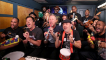 metallica jimmy fallon enter sandman