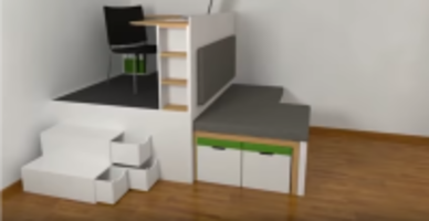 Furniture For Micro-Apartment