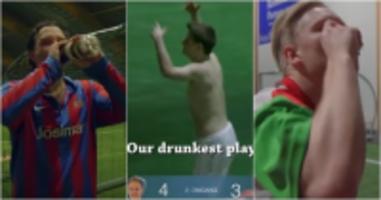 drunk football norway