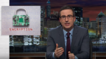 John Oliver FBI Apple