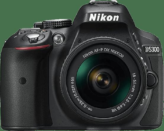 Nikon D5300 Camera Kit + AF-P 18-55mm VR lens
