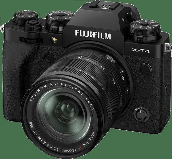 Fujifilm X-T4 System Camera + Lens (XF 18-55mm) Kit