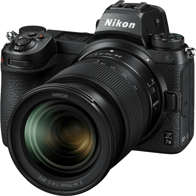 Nikon Z7 Camera Kit with 24-70 mm 1:4 Lens and FTZ Adapter
