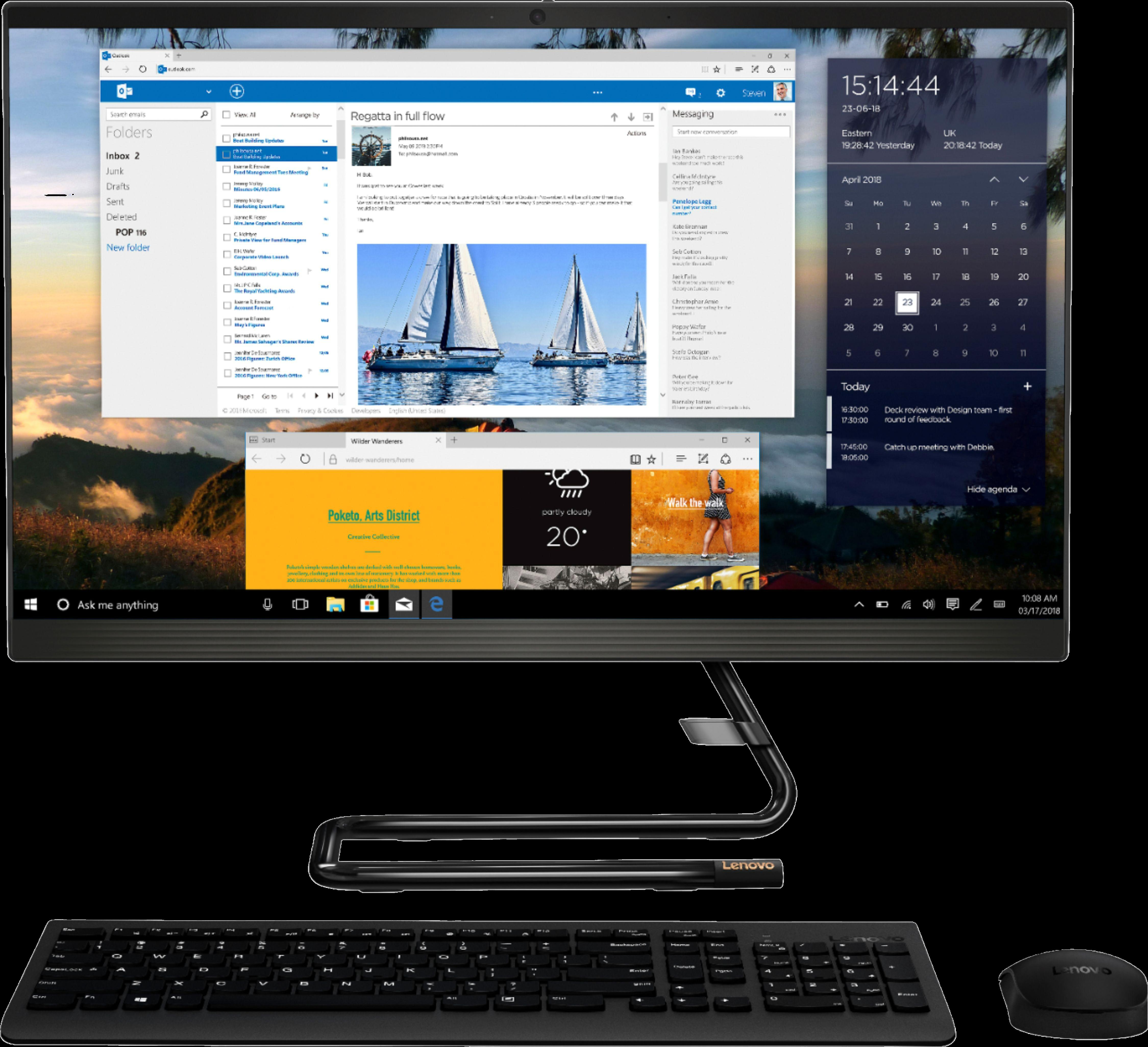 Lenovo IdeaCentre AIO 3i All-In-One - Intel Core i5 - 8GB - 512GB SSD
