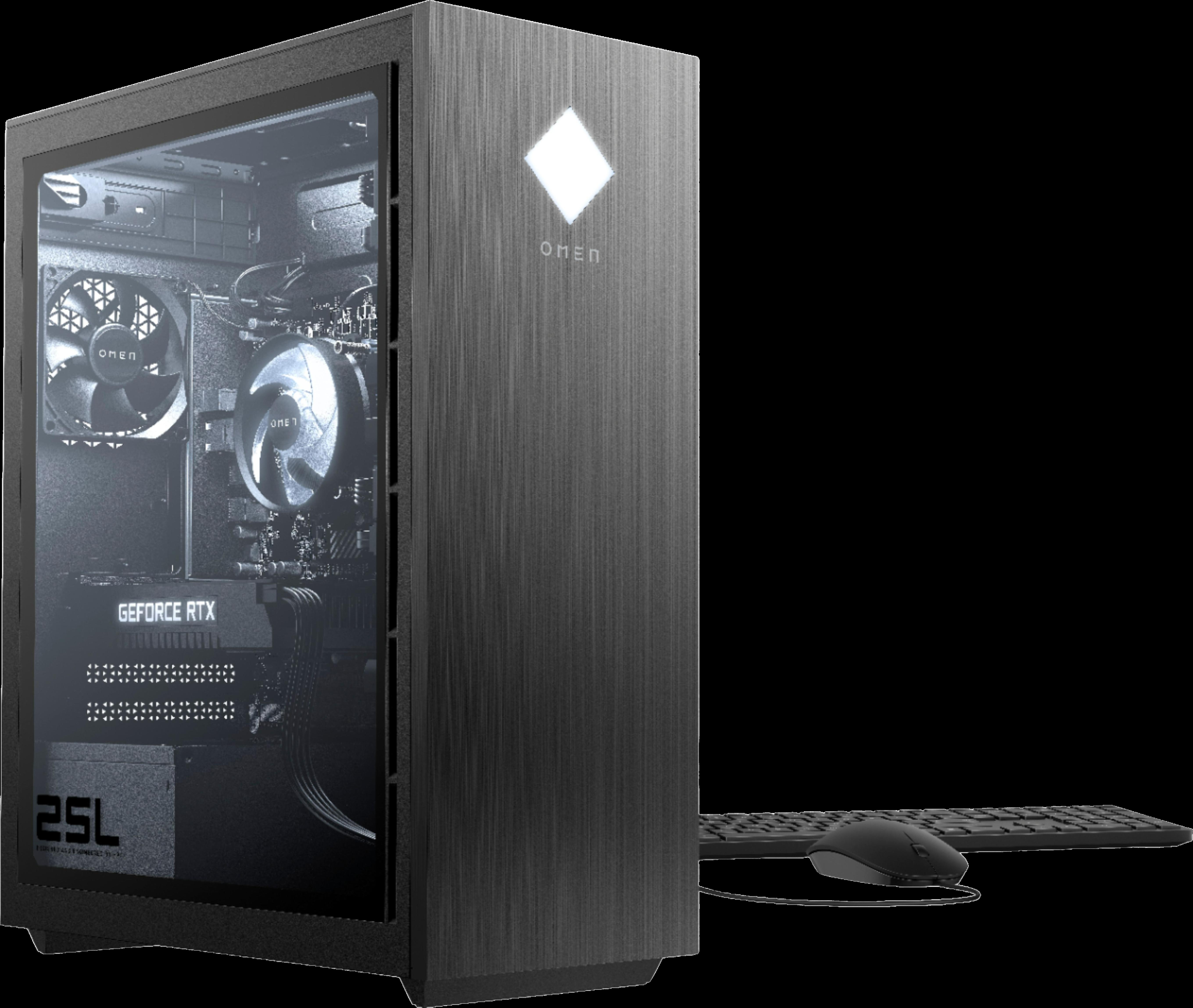 HP OMEN - Gaming Desktop - Intel Core i5 - 8GB - NVIDIA GeForce GTX 1660 SUPER - 512GB SSD