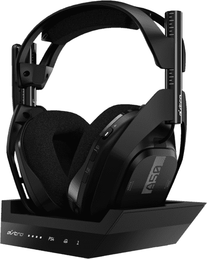 ASTRO Gaming A50 Wireless Headphones + Base Station, Gen 4