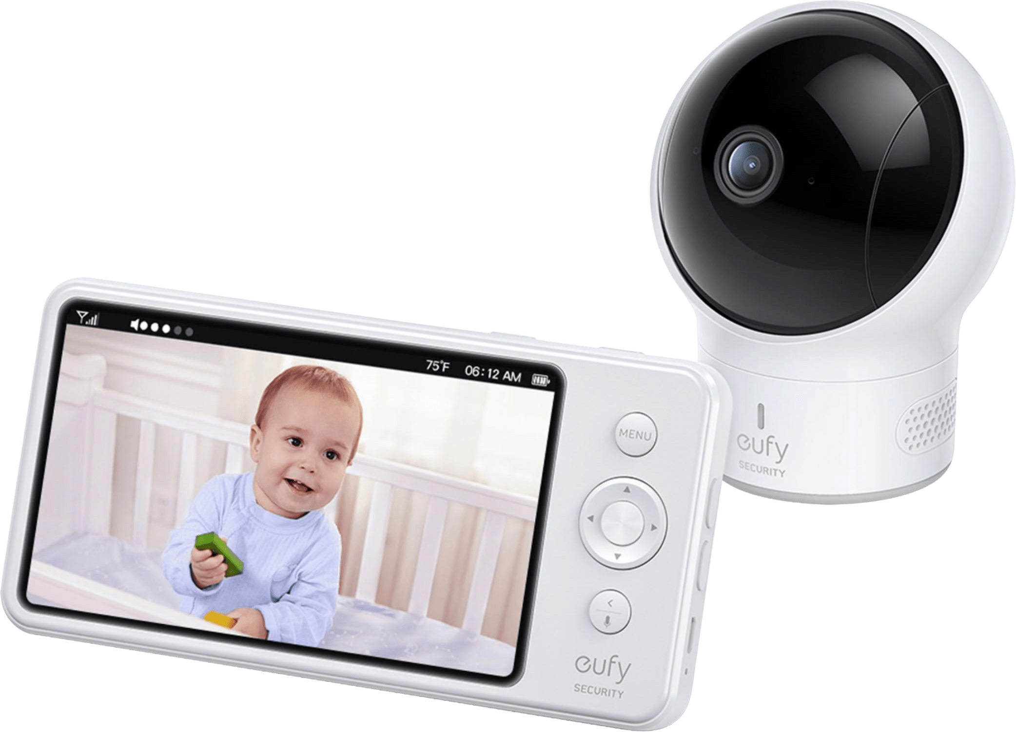 eufy Spaceview Baby Monitor Cam Bundle