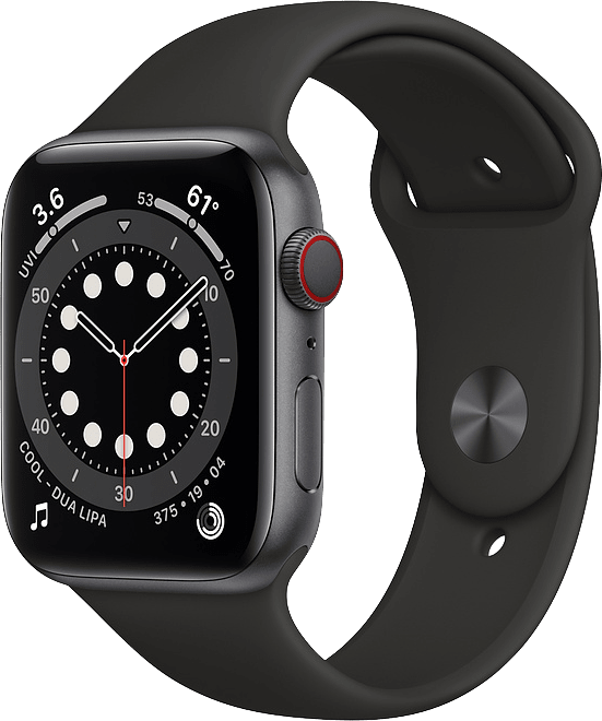 Apple Watch Series 6 GPS + Cellular , 40mm Aluminium case, Sport band