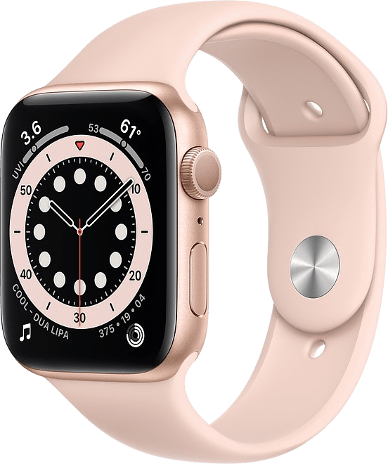 Apple Watch Series 6 GPS, 40mm Aluminium case, Sport band