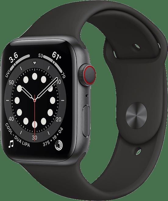 Apple Watch Series 6 GPS + Cellular , 44mm Aluminium case, Sport band