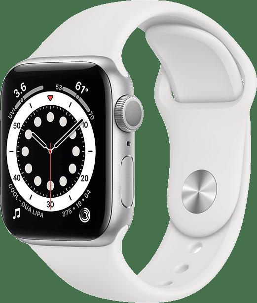 Apple Watch Series 6 GPS, 44mm Aluminium case, Sport band