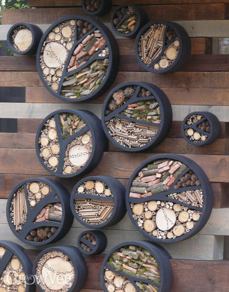 Insect Hotels Encourage Beneficial Insects Into Your Garden