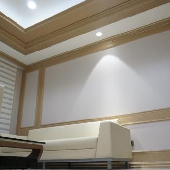 office room pictures. Wallpanel-kombinasi Lis Dan Board Pada Dinding Yang Serasi Dengan Plafon Merupakan Kunci Dari Konsep Office Room Pictures